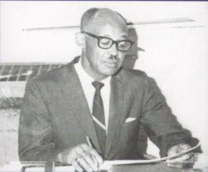 Major Jarrett, The Last Principal of Allen-White School